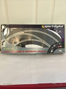 Scalextric C7008 Sport Digital Lane Change and Sensor Track Pack
