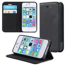 Handyhülle Schutzhülle Handytasche Case Cover für Apple iPhone 4 4S Schwarz
