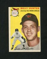 1954 Topps #48 Billy Hunter EX-MT (Orioles) FREE SHIPPING ON $20+ *GCC*