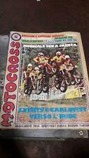 Motocross riviata 1979- Servizio SWM 347 GS -Yamaha 500 HL