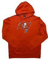 NIKE Tampa Bay Buccaneers Bucs NFL Therma-Fit Hoodie Jacket Red Medium M