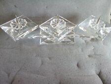 Swarovski candleholder 3 pin retired 1985 7600NR106000 orig box 106