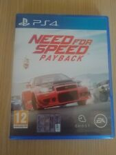 GIOCO ITALIANO NEED FOR SPEED PAYBACK PS4 PLAYSTATION 4 PERFETTO