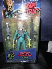 Very Rare! Mars Attacks Topps Mezco Figure 2012 Martian Commander. New In Box!