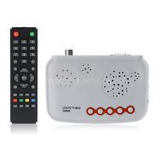 VGA Analog TV PC Tuner Box Digital Program Receiver CRT LCD Monitor HDTV AW3F