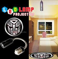 3D Plata Transformers Autobot Logo CREE LED Luz Fiesta ambiente Decorativo