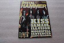 Metal Hammer 1/1997 Kiss, Marty Friedman, Sentenced, Three Fish, Cradle Of Filth