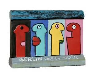 rare Thierry Noir Berlin wall souvenir Sculpture Street art KAWS hotel banksy