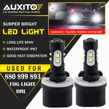 2X 880 899 6000K 50W Cree LED Driving Bulbs Kit Fog Driving Light 2800LM EOA