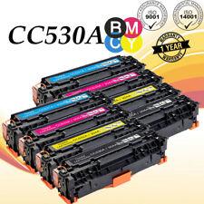 8 Pack Toner Cartridge For HP CC530A 304A Color LaserJet CM2320 CM2320N CP2025DN