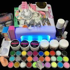Burano 36W UV Dryer Acrylic Nail Art Set Acrylic Nail Kit Set Tools Lamp Nail