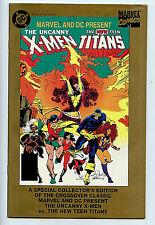X-Men vs New Teen Titans Collector Edition NM+ Marvel & DC Present 1995 F2