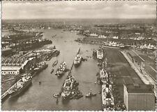 Hamburg, Schiff, Dampfer Frachter im Hafen, alte Ansichtskarte von 1960