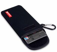 Apple iPhone 8 Shocksock Durable Padded Neoprene Pouch Carabiner Fastener