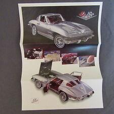 200C Folding 27 X 20 Franklin Mint Chevrolet Corvette Fiberglass