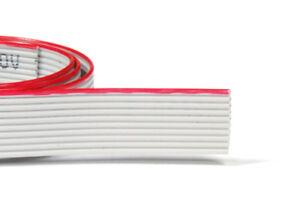 30cm 1ft 10-Wire Way 10pin Ribbon Cable Grey/Flat AWM2651 300V 105°C