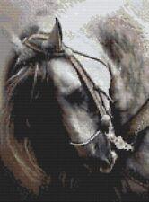 Spanish Stallion Horse Counted Cross Stitch Kit Wildlife Animals