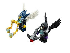 LEGO 70007 Chima Eglor & Razcal Minifigure - Lot of 2