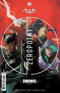 Batman Fortnite Zero Point #1 DC Comic 1st Print w/code NM PRESALE 4/20/2021