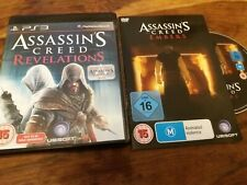 Assassins Creed Revelations 2 Disc Sony PS3 + Embers Rare Limited Animated DVD