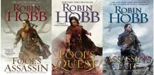 Robin Hobb FITZ AND THE FOOL Fantasy Trilogy Paperback Collection Set Books 1-3