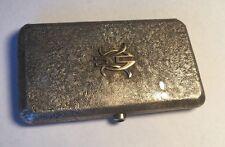 Imperial Russian Samorodok .875 Fine Silver Cigarette Case Faberge