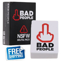 Bad People - The Adult Party Game You Probably Shouldn't Play - NSFW Brutal
