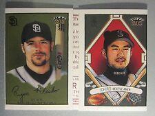 *Rare* 2003 Topps 205 Triple Folder Polar Bear #Tf16 Ichiro Suzuki / Ryan Klesko