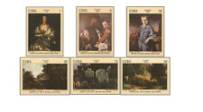 KUB8108 Painting Masters, Van Dyck and others 6 pieces MNH 1981