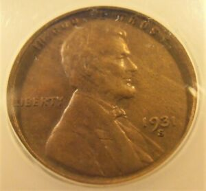 1931 S Lincoln  Cent, MS61 BN SEMI KEY DATE coin (31S201)