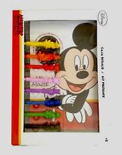 Disney Mickey Mouse colorantes Set-Libro Para Colorear, 3d carácter Crayones