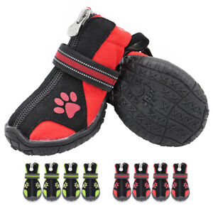 Pet Dog Boots for Large Dogs Non Slip Indoor Outdoor Waterproof Shoes Reflective