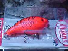 Mann's Baby1-  Minus WORLD'S #1 Shallow Crankbait SB409 FIRE RED FLUOR for BASS