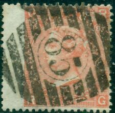 Great Britain Sg-94, Scott # 43, Used, Plate # 8, Fine, Great Price!