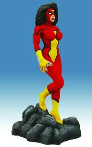 Marvel Collectible 8 Inch Statue Bowen Designs - Spider-Woman New Avengers