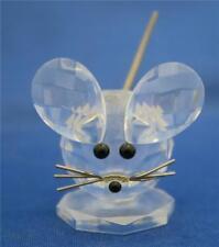 MOLLA del mouse Swarovski Logo Blocco di coda