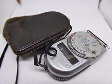 Vintage Sekonic Light / Exposure Meter in Original Leather Case