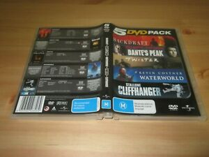 Backdraft / Dante's Peak / Waterworld / Twister / Cliffhanger DVD [5 Disc Set]