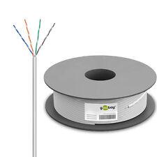 100m Netzwerkkabel Cat6 U/UTP Verlegekabel Patchkabel Gigabit DSL LAN .DHL.93884