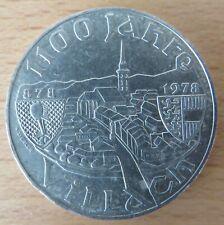 Österreich 100 Schilling 1978, 1100 Jahre Villach, Silber-Gedenkmünze