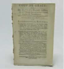 John Henley ECCLESSIASTICAL ESTATES Pierre Bayle REFORMATION Martin Luther LAW