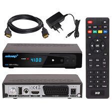 Digital Mobile Camping FULL HD TV Sat Receiver PVR USB 12V SCART + HDMI Kabel