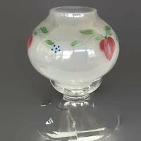Orrefors Sweden Maja Glass Signed Crystal Footed Tea Light Candle Holder 6.5 T