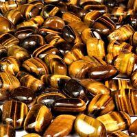 50 g Tigerauge Trommelsteine Ø 10 - 20 mm  A - Qualität aus Südafrika