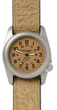Bertucci A-2T Vintage Khaki / Silver Analog Quartz Men's Watch 12082