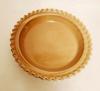 "OGGI Corp. Pie Plate Ceramic Dish (Bottom of 2 piece set) replacement 11"" Rare"