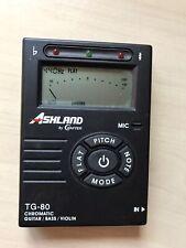 Ashland by Crafter TG-80 tuner. guitar bass violin