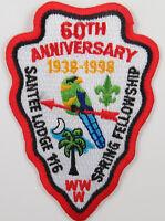 OA Lodge 116 Santee eA1998-1, Fdl; Spring Fellowship; [D1779]