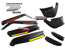 MOST 2012 & PRIOR CAN-AM OUTLANDER MAX MUD GUARDS FENDER EXTENSIONS FLARES NEW!
