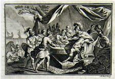 1759 Military Print - Roman Leaders and Soldiers